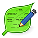 Leafpad Logo